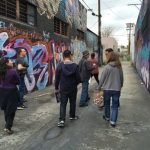 "Cartwheel Art Tours: ""Graffiti Walk with Steve Grody"" – El Serrano"