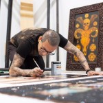 "PREVIEW & INTERVIEW:  Opening Reception for ""The Pain Isn't Over"" a Solo Art Exhibition by Leafar Seyer at These Days Gallery – February 24th"