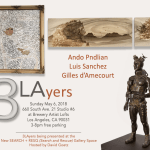 SAVE THE DATE: 3 LAyers Exhibition Opens at new SEARCH +RESQ Gallery – Sunday May 6th, 3-8 PM