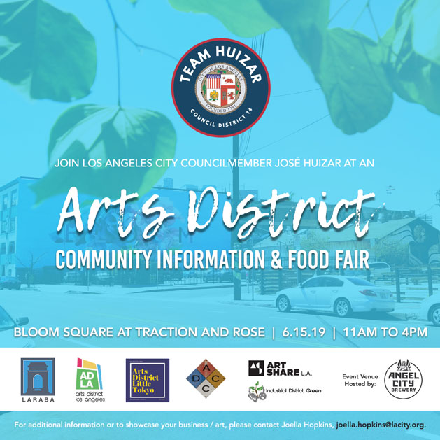 Arts District Community Information and Food Fair