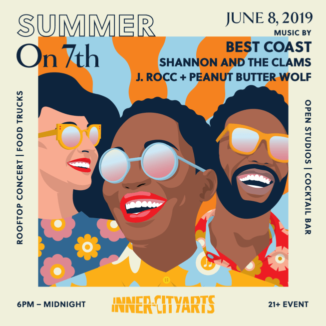 Inner City Arts' Summer on 7th 2019