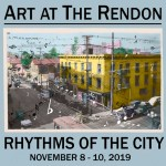 "SAVE THE DATE: Art At The Rendon's ""Rhythms of the City"" Is a Love Song to Los Angeles – November 8 – 10, 2019"