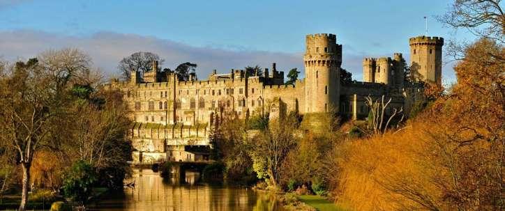 Warwick-Castle near Cartwight Hotel in Anyo Banbury