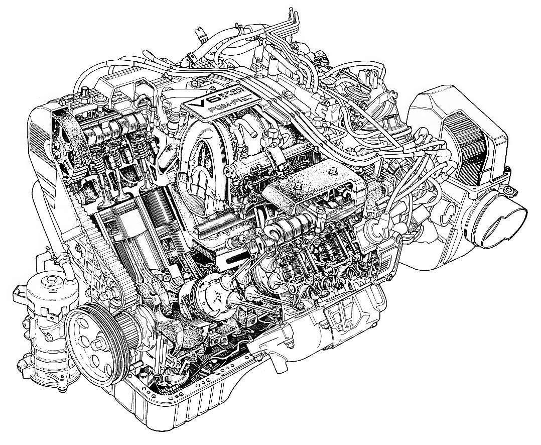 Ford Turbo V6 Crate Engine