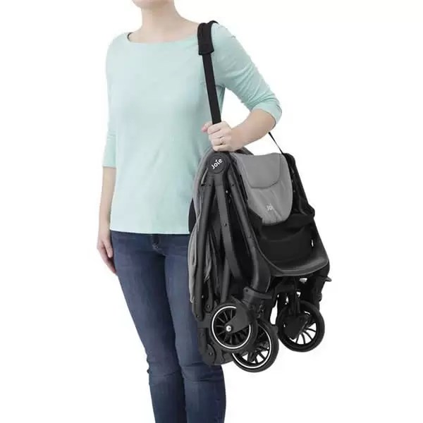 Carucior ultracompact Joie Tourist 0 luni Gray Flannel 8