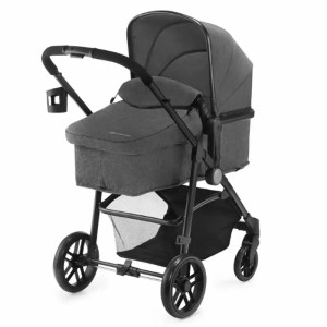 Carucior Juli Kinderkraft 3 in 1 grey 1