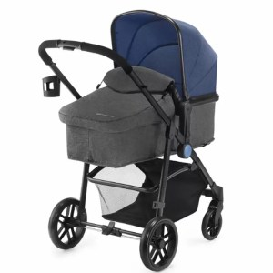 Carucior Juli Kinderkraft 3 in 1 navy 1