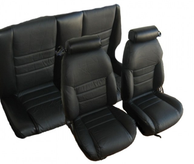 Ford Mustang Seat Covers 1994 1995 Convertible With Large Front Headrests