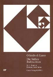 Orlando di Lasso | Carus-Verlag