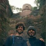 Frank Caruso, L.Ac. with Jim Rohr LeShan Buddha