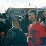 Frank Caruso at Jokhang Temple Lhasa Tibet