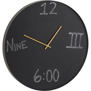 cat tick chalk clock