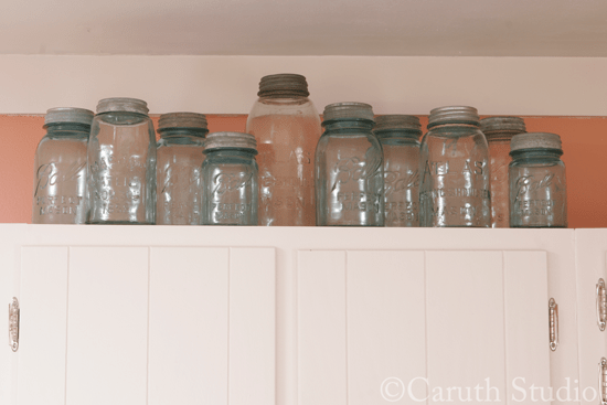 Vintage-mason-jar-collection