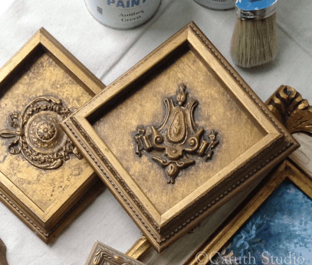 Plaques-before-painting