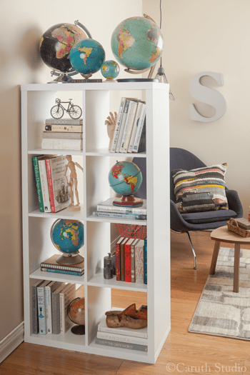 Shelf-as-room-divider
