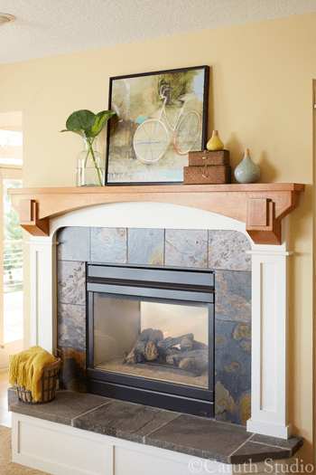 Styled-Fireplace-Mantel