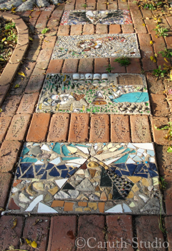 Mosaic steppingstones