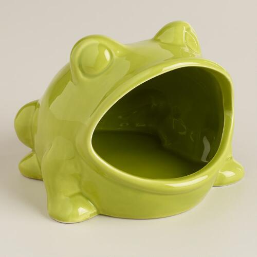 Green Frog Soap Dish