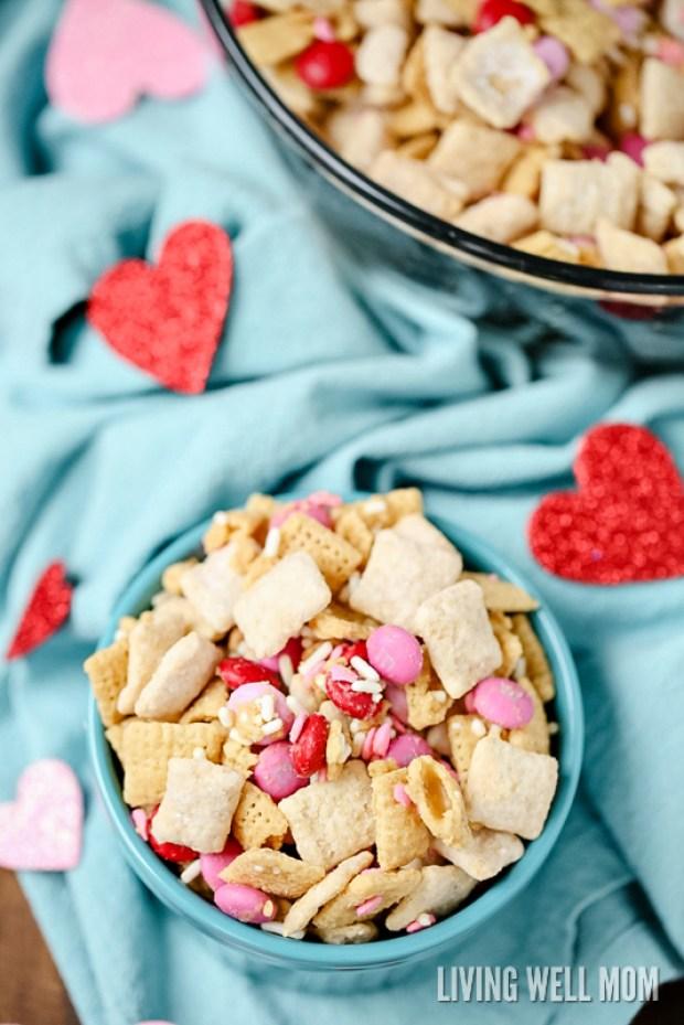 Valentines Day Chex Mix recipe