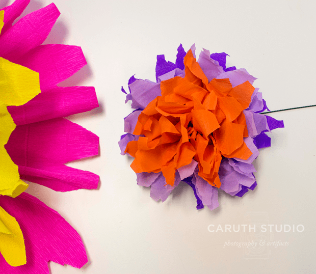 Small paper flower
