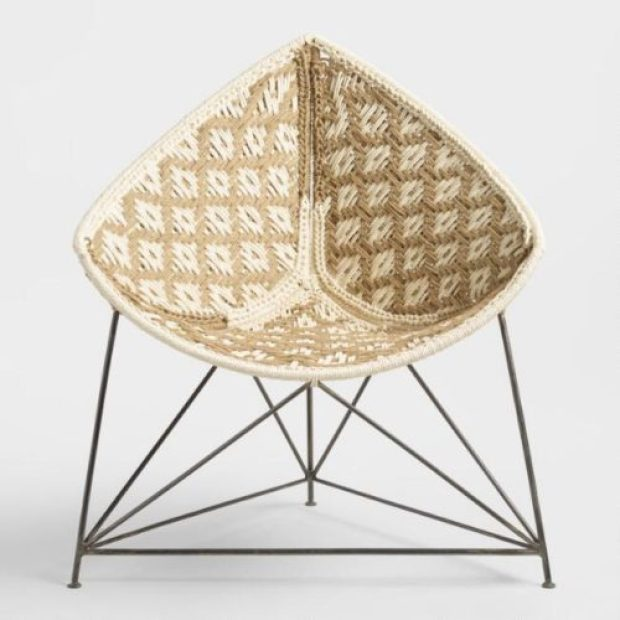 Jute Triangle Chair