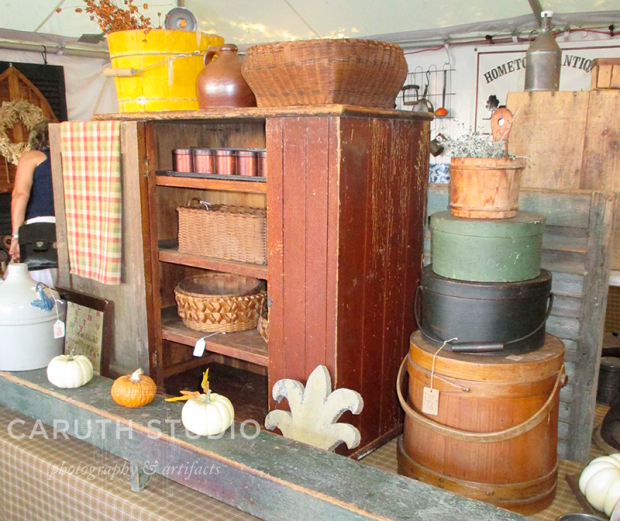 Brimfield vintage cases