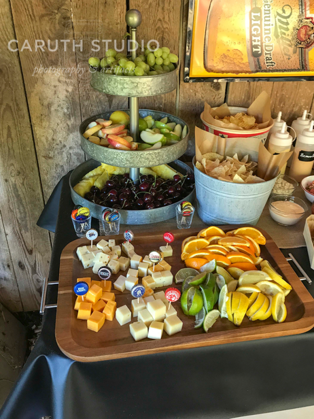 Fresh Fruits and Cheeses
