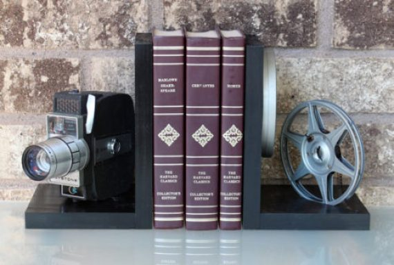 Keystone - Vintage Camera Bookends