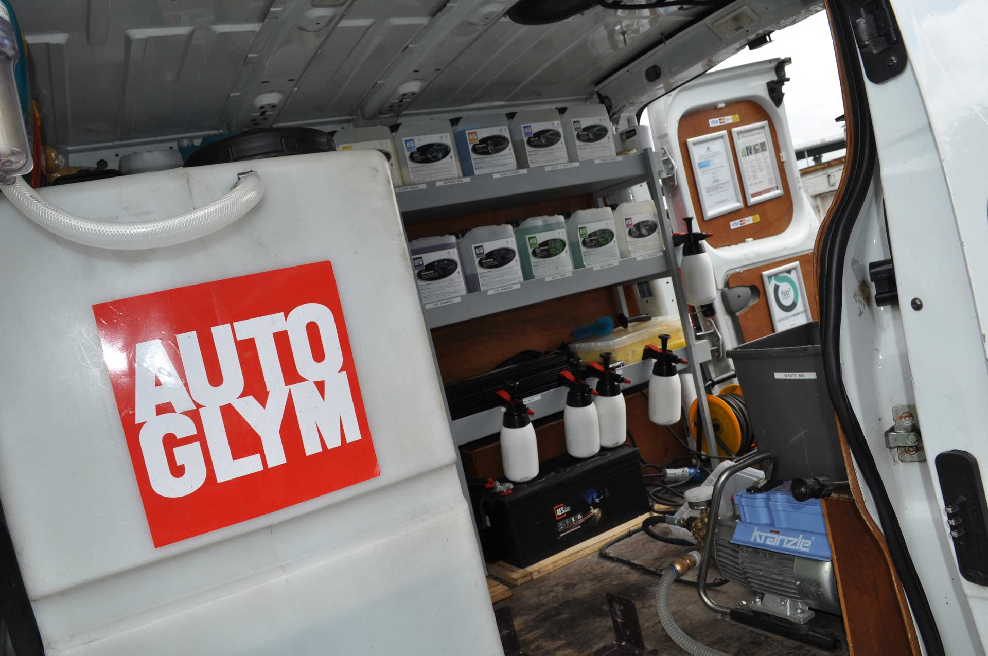Autoglym Professional Approved Valeting Glasgow