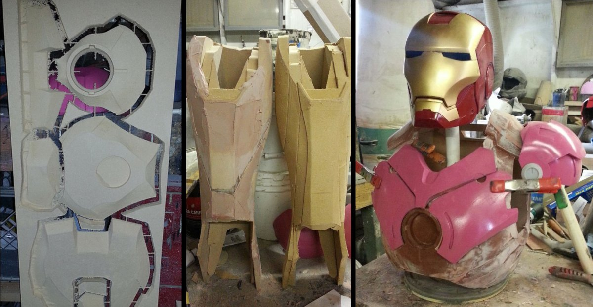 iron man assembly