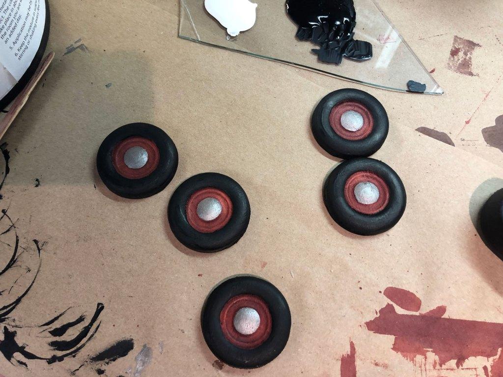painted wheels