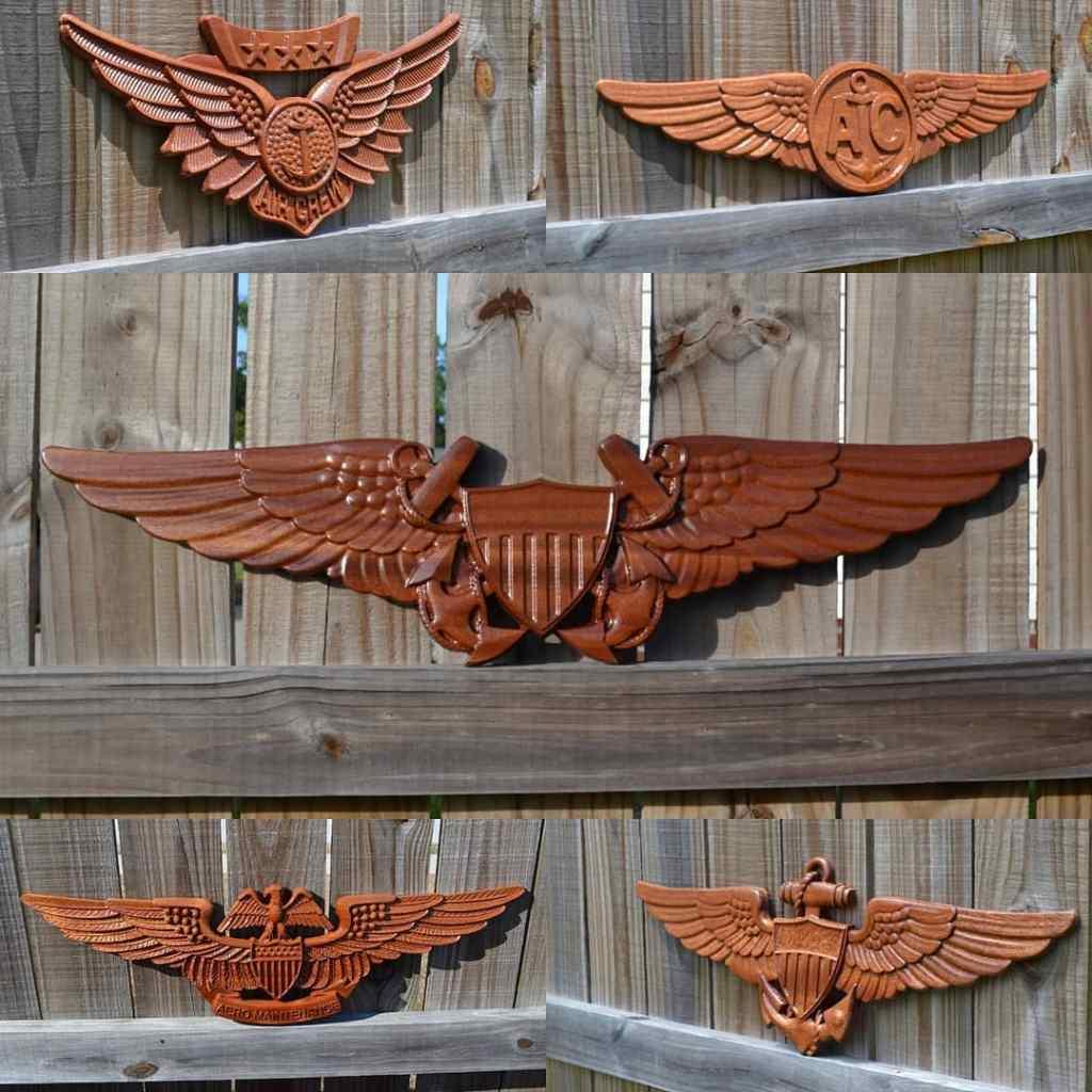 CarveWright Military Emblems