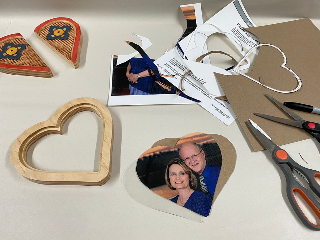 heart frame project picture