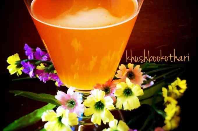 Citrus Saffron Herbal Tea