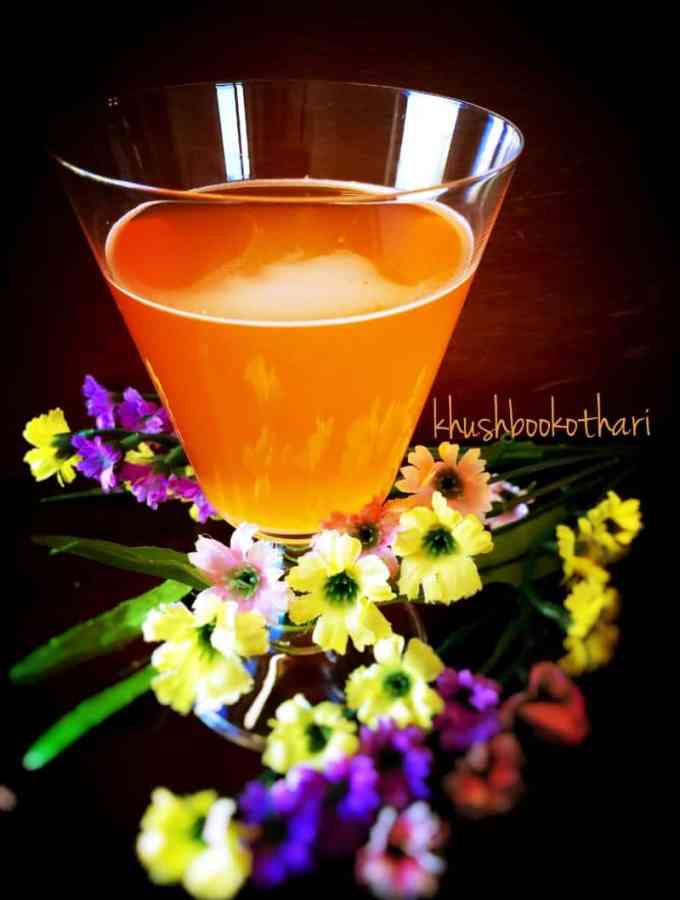 Citrus Saffron Herbal Tea