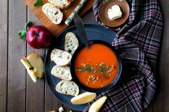 apple carrot soup – feel better soup
