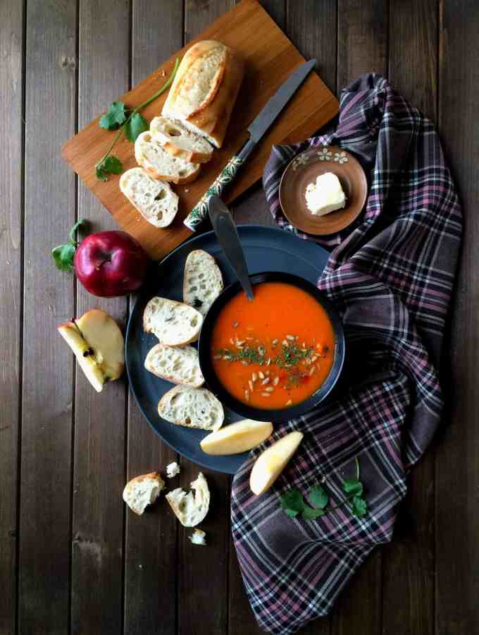 apple carrot soup – feel better soup