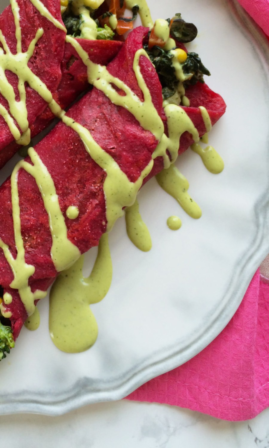 how to make eggless savoury crepes