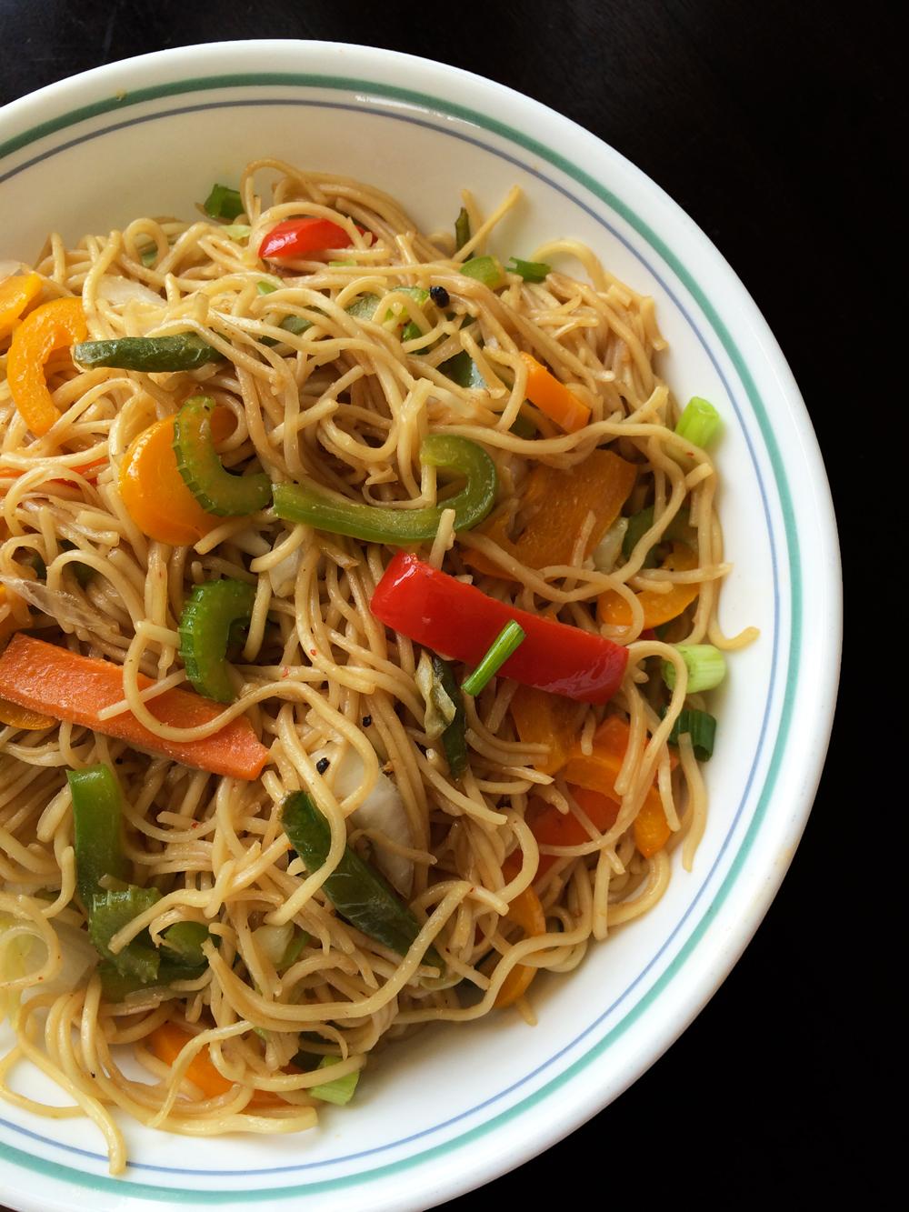 Perfect veg hakka noodles indo chinese hakka noodles forumfinder Images