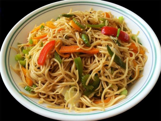 Perfect Veg Hakka noodles - Indo Chinese