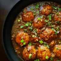 Easy no fry Veg Manchurian Gravy-indo chinese,vegan & GF