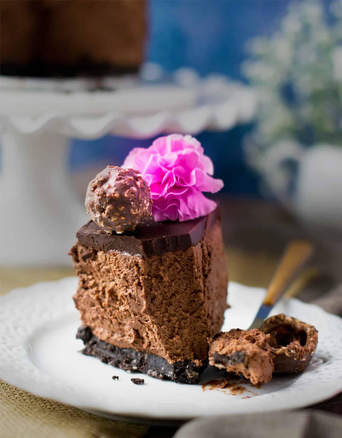 Bake Eggless Cake In Microwave