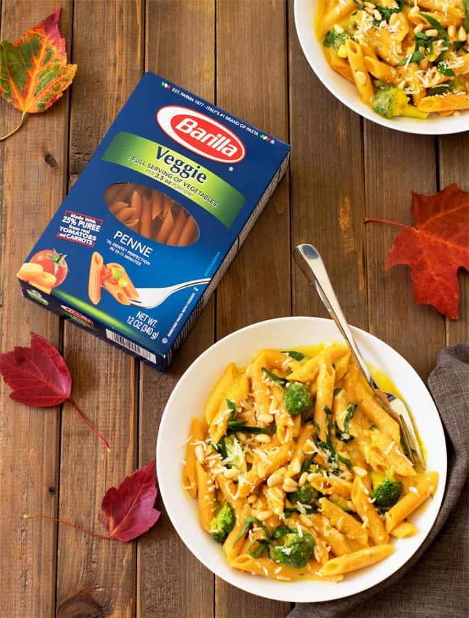 veggie-booster-pasta-in-creamy-butternut-squash-sauce-10