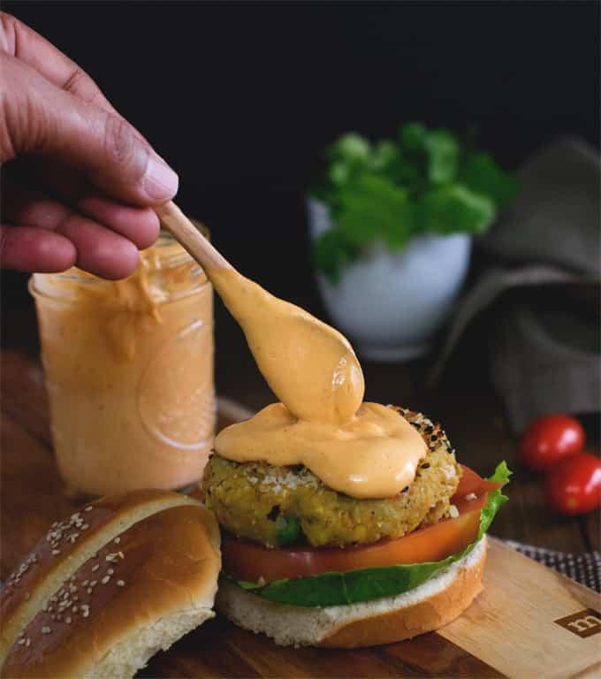 3 Ingredient Killer Vegan Burger Sauce Made In 2 Minutes
