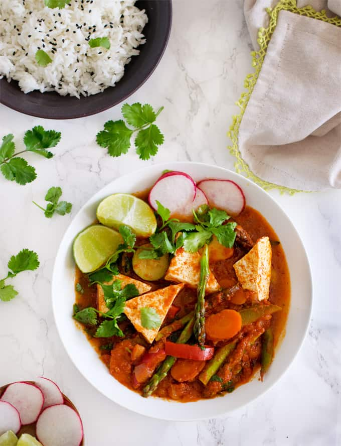 Vegan Chipotle Jungle curry