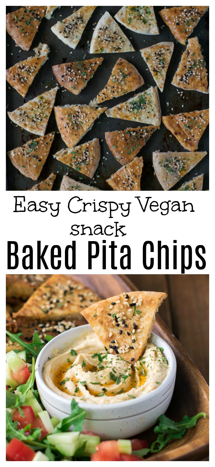 How to make crispy baked pita chips at home | Baked pita chips