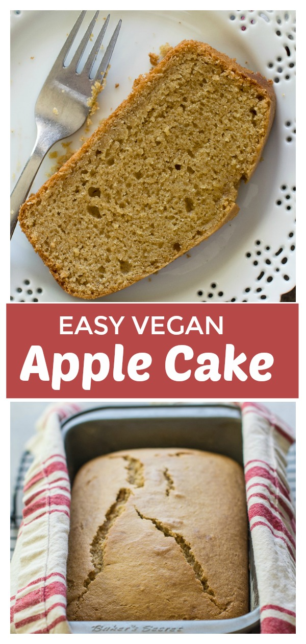 Moist vegan Apple cake made with simple ingredients and have full proof gluten free cake option too.