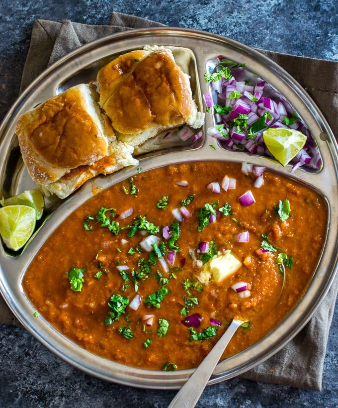 Mumbai Pav Bhaji Recipe Made Easy In Instant Pot Pressure
