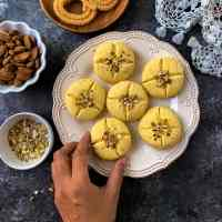 Nankhatai recipe ( Indian eggless cookies)
