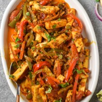 Vegetable Paneer Jalfrezi